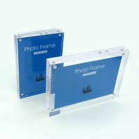 TOPINSTOCK Set of 2 Sizes TOPINSTOCK Clear Acrylic Picture Frames